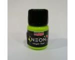Pentart neoon akrüülvärv, neonroheline, 30ml