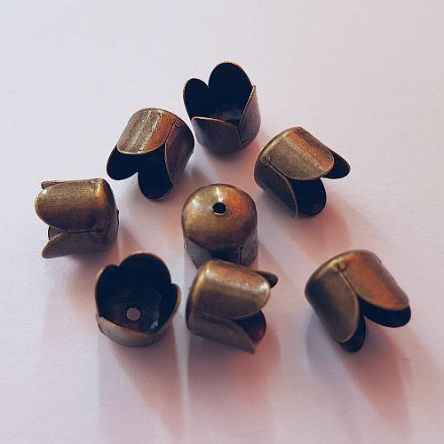 Koonus, 8x8mm, pronksne, 8 tk