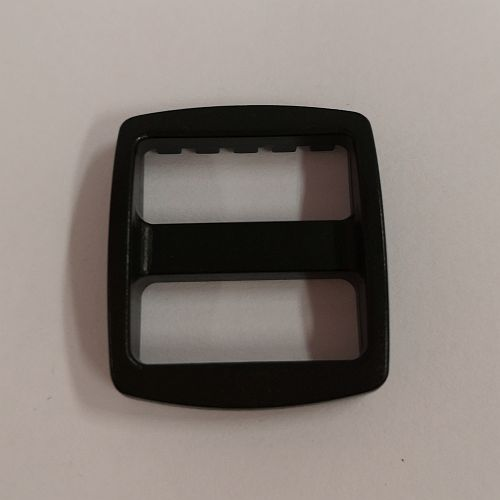 Pannal, plast, 20x25mm, must, 1 tk
