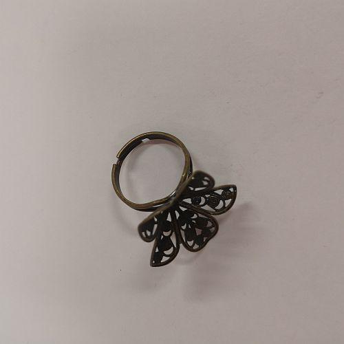 Sõrmusetoorik Lill, 25mm, pronksne, 1 tk