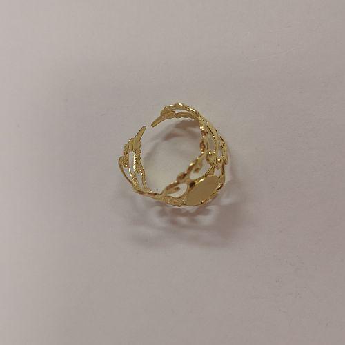 Sõrmusetoorik Pitsiline, 20mm, kuldne, 1 tk