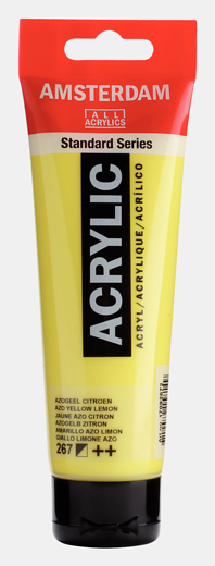 Akrüülvärv Amsterdam 120ml, 267 azo yellow lemon