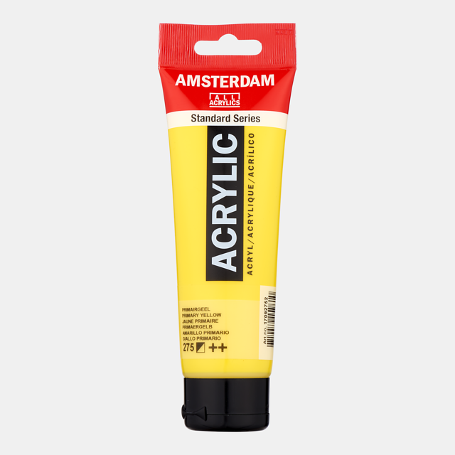 Akrüülvärv Amsterdam 120ml, 275 primary yellow