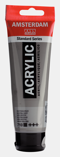 Akrüülvärv Amsterdam 120ml, 710 neutral grey hall