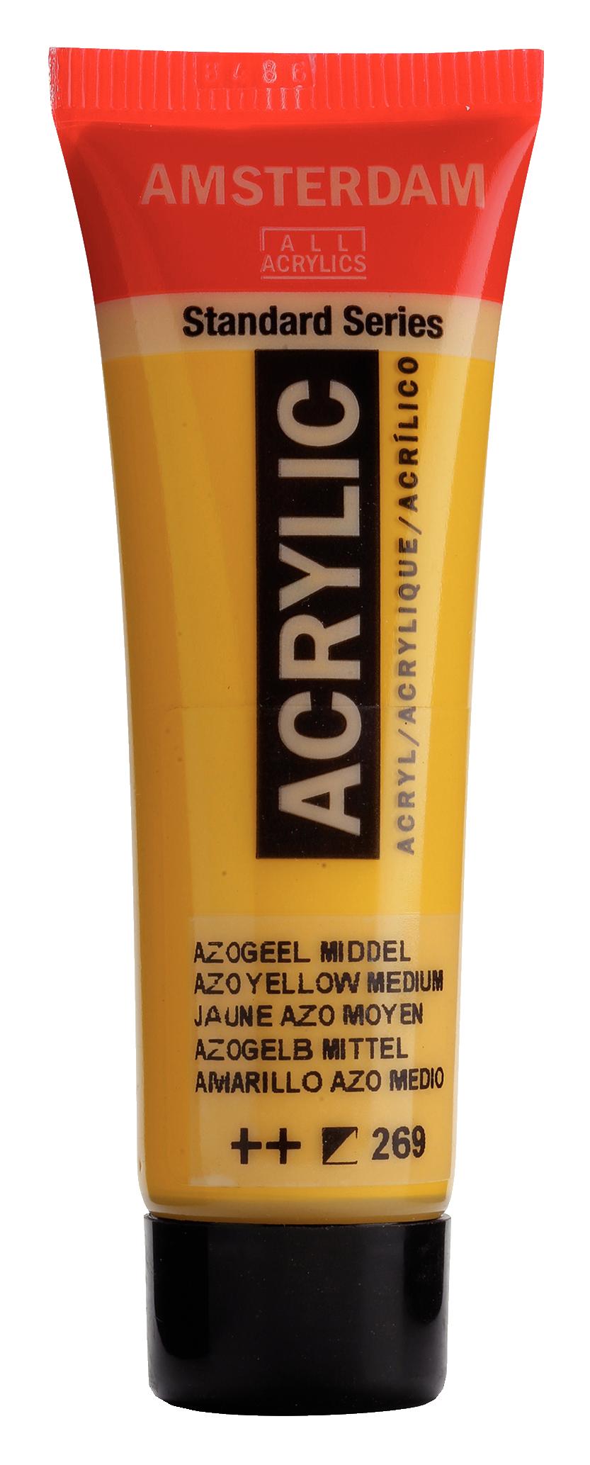 Akrüülvärv Amsterdam 20ml, 269 azo yellow medium