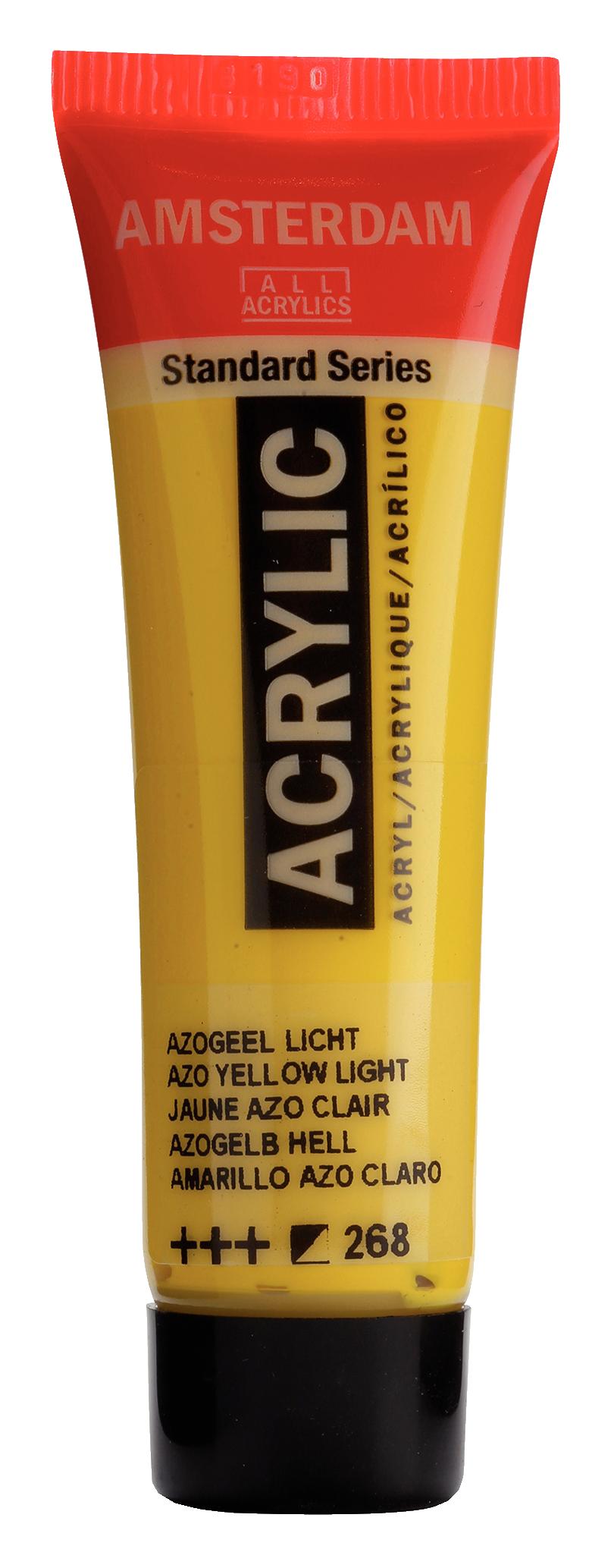 Akrüülvärv Amsterdam 20ml, 268 azo yellow light