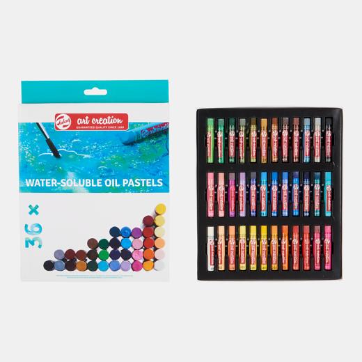 Art Creation vees lahustuvad õlipastellid 36 värvi