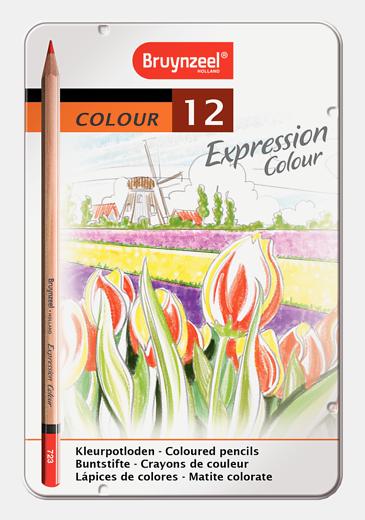 Bruynzeel värvipliiatsid 12 värvi