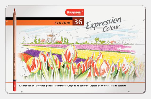 Bruynzeel värvipliiatsid 36 värvi