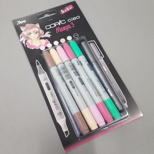 Copic Ciao Manga 3. Komplekt 5+1