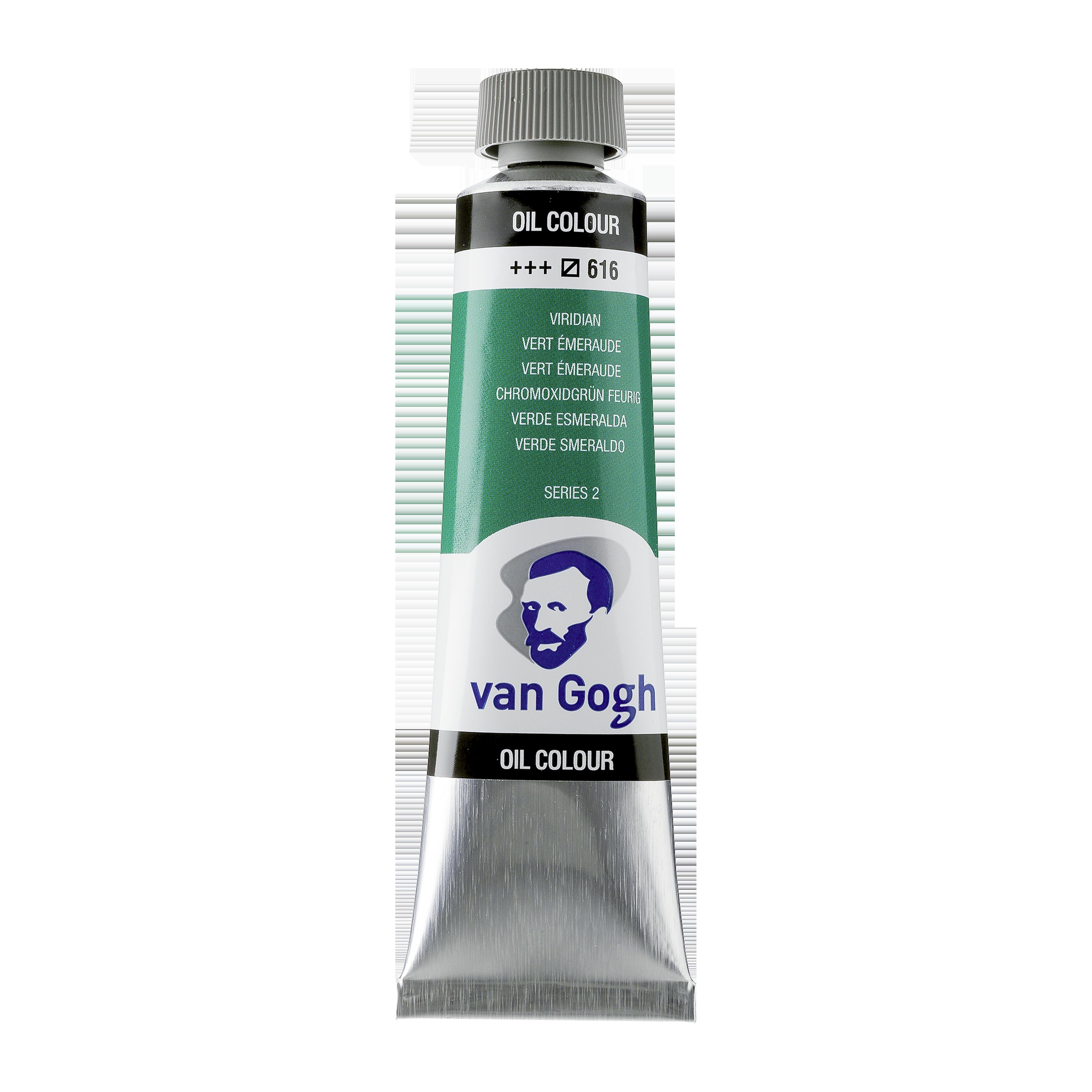 Õlivärv Van Gogh 40ml, 616 Viridian, sinakas roheline