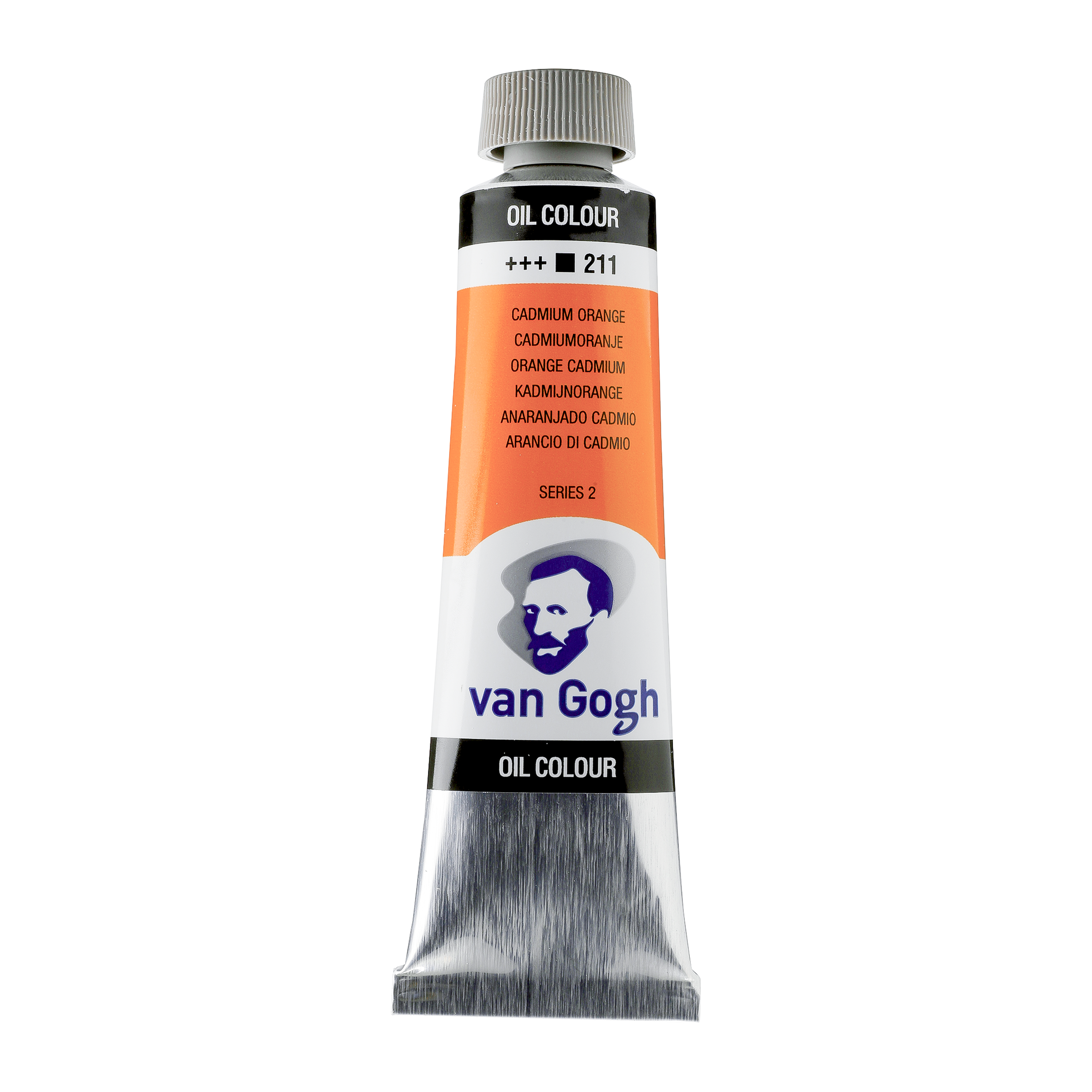 Õlivärv Van Gogh 40ml, 211 Cadmium Orange, soe kollakas oranz