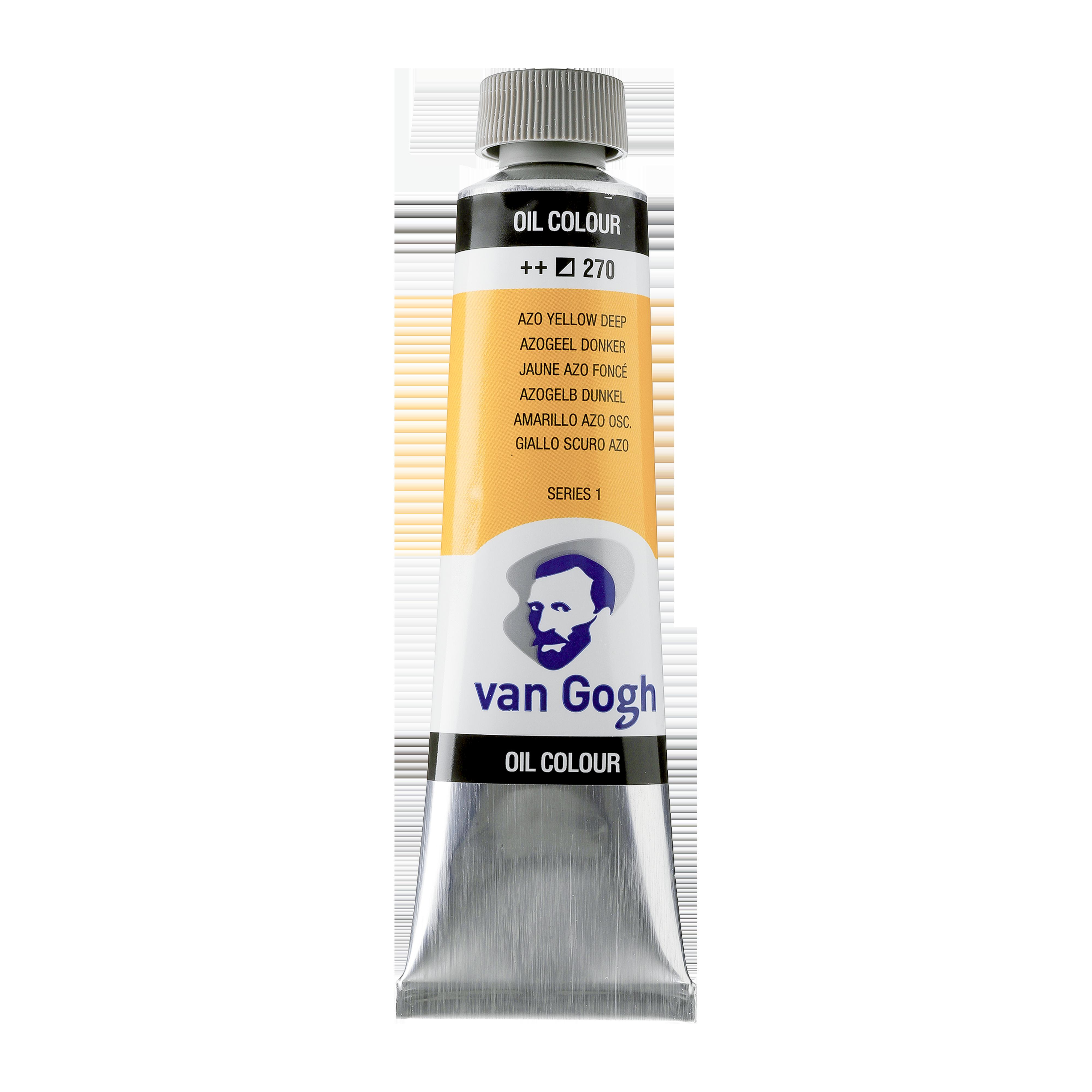 Õlivärv Van Gogh 40ml, 270 Azo Yellow Deep, tumekollane