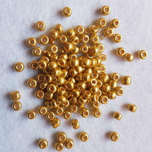 Seemnehelmed, 4mm, kuldne