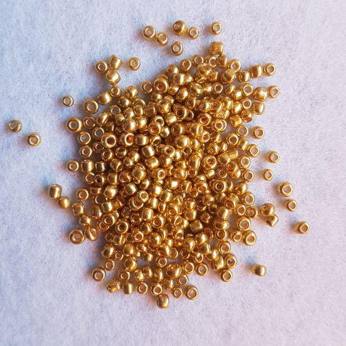 Seemnehelmed, 3mm, kuldne