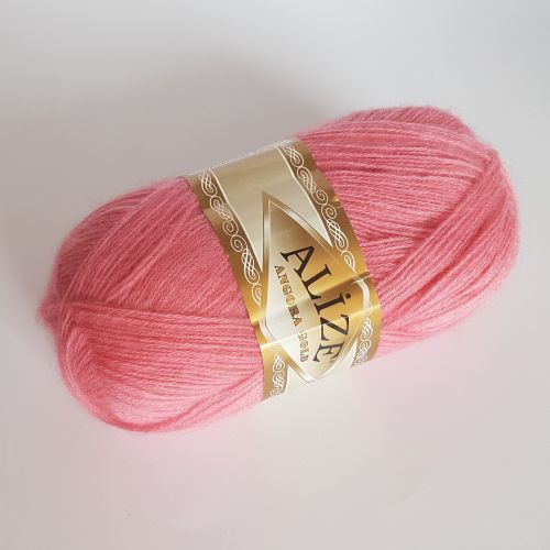 Lõng Alize Angora Gold, 100gr, 550m, roosa 33