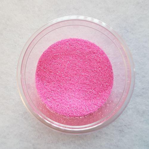 Glitterpulber, neoonroosa