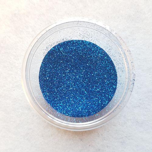Glitterpulber, sinine