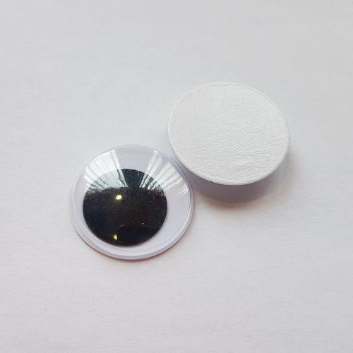 Kleebitavad silmad, 30mm, pakis 2 tk