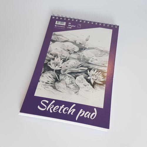 Joonistuplokk Sketch Pad, A5, 120gr, 40 lehte