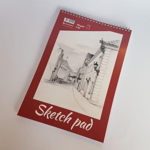 Joonistusplokk Skets Pad, A5, 190gr, 30 lehte